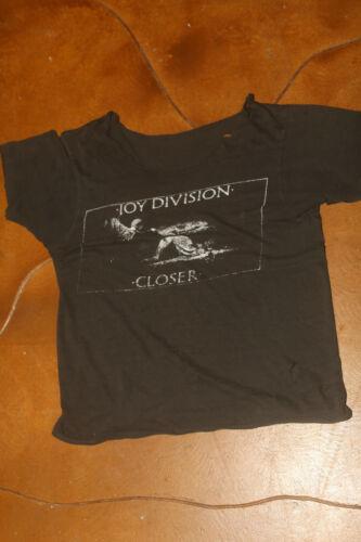 Joy Division Closer 1980 Rare Single Stitched Dist