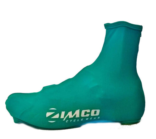 Zimco Lycra Cycling Bicycle Shoe Cover Booties with Rear Zipper