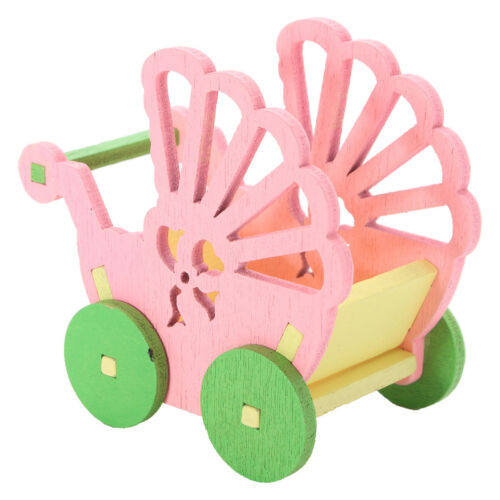 1 Set Wooden Baby Nursery Room Furniture Dolls Miniature Kid Play Role Toys Gift