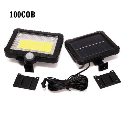 56-120LED COB Solar Power PIR Motion Sensor Lamp Security Light Outdoor Garden