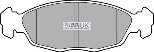 PD4 FRONT Brake Pads To Suit CORSA 1.5 D DIESEL