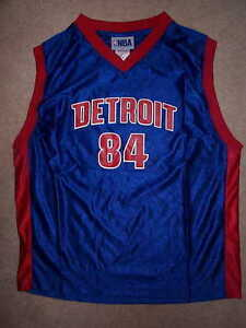 check out d71b3 67850 Details about THROWBACK Detroit Pistons CHRIS WEBBER nba Jersey YOUTH KIDS  BOYS CHILDRENS 5-6