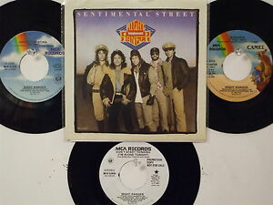 LOT OF 4 ' NIGHT RANGER ' HIT 45's+1PS           THE 80's!