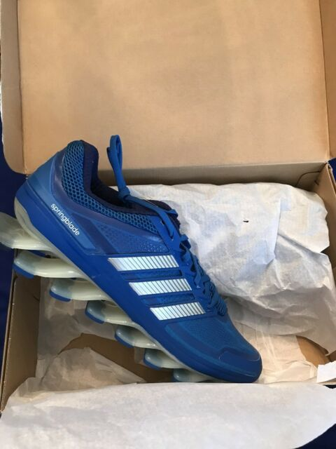 ADIDAS SPRINGBLADE M SHOES SIZE 12 NEW NIB BLUE LIST  189.99 G99643 81cd3ffdf