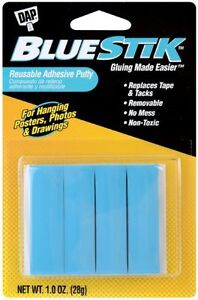 Dap Bluestik Reusable Adhesive Putty Fun Tak Bluestick
