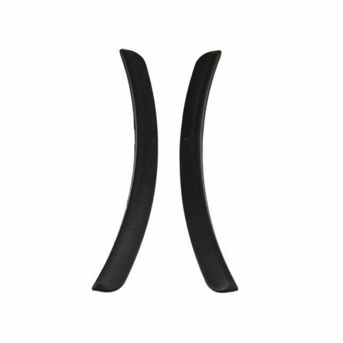 Pair Car Fender Flare Extension Wheel Eyebrow Moulding Trim Protector Lip Rubber