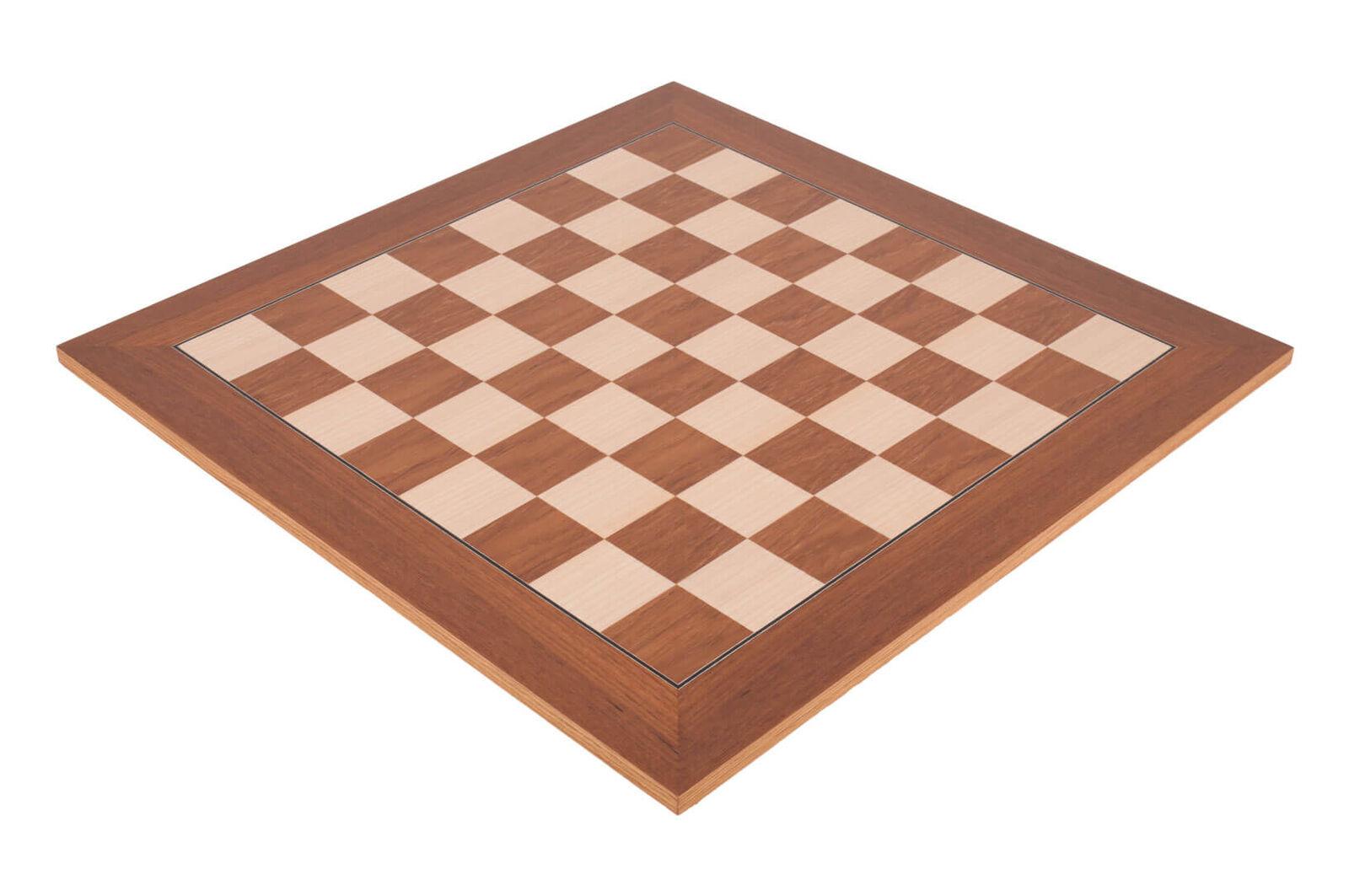 Teak Standard Traditional Chess Board - 2.75