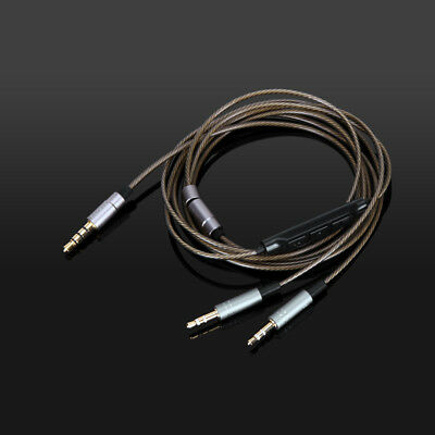 Silver Plated Cable for Hifiman HE400S HE-400I HE560 HE-350 HE1000 V2 Headphone