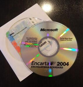Microsoft-Encarta-2004-Windows-Encyclopedia-Standard-Office-Refference-Mint