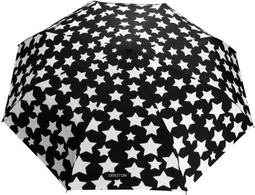 Omoton Parapluie Avec Automatique Bouton 8 renforcée côtes en étoiles-forme