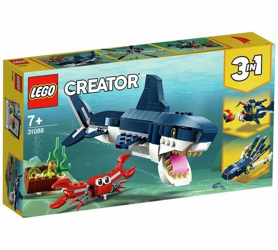 LEGO Creator Deep Sea Creatures Toy Shark Playset - 31088 Best Game For Kids