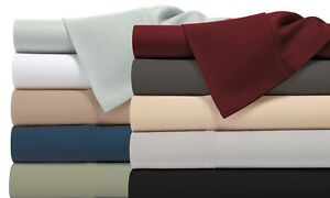 1800-Thread-Count-Bamboo-Comfort-Extra-Soft-Bed-Sheet-Set-Deep-Pocket-12-Colors