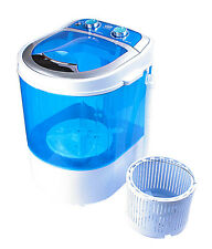 DMR 30-1208 Portable Single Tube Mini Washing Machine with dryer basket- BLUE