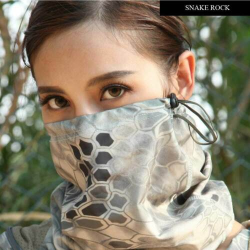 SINAIRSOFT Military Army Airsoft Tactical Half Face Mask Camouflage Print Sport