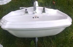 Kohler Portrait Pedestal Sink.Details About Kohler Portrait Pedestal Sink And Toilet Set