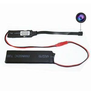 Hidden Microphone Spy Cam 640 480 Wifi Camera 0 1oz Motion Detection