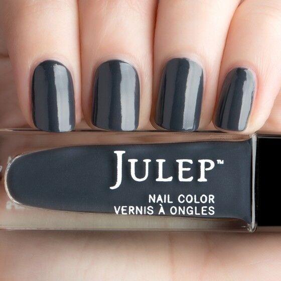 Julep Nail Polish Imogen Boho Glam A Dark Charcoal Ghost Shimmer Vegan Ebay