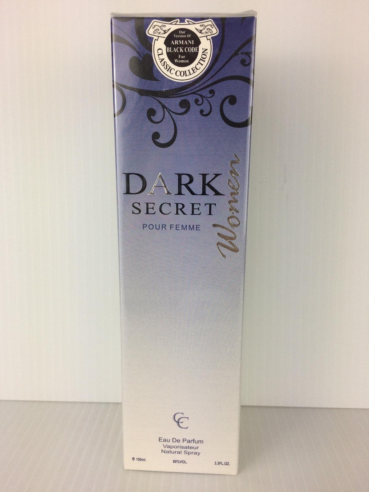 About Femme 3 Edp Spray Nib Code Pour 3 Version Armani Dark Secret Of Black Our Details Oz LVpUqzMGS