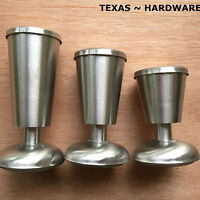 Kitchen Cabinet Legs Metal Stainless Steel 4 Pieces