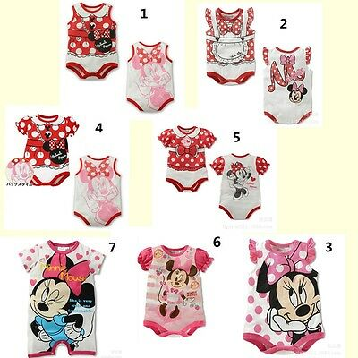 Lovely Infant Baby Boys Girl Rompers Jumpsuit Popular Cartoon Cotton 6-24 Months