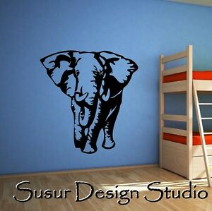 Elephant-Animal-NURSERY-Decal-Wall-Quote-Sticker-Art-Decor