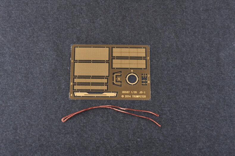 Soviet JS-1 HEAVY TANK 1 1 1 35 autoRO ARMATO TRUMPETER modello KIT 05587 0c9867