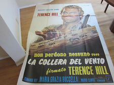 TRINITY SEES RED Original 1970 Italian spaghetti western poster Terrence Hill