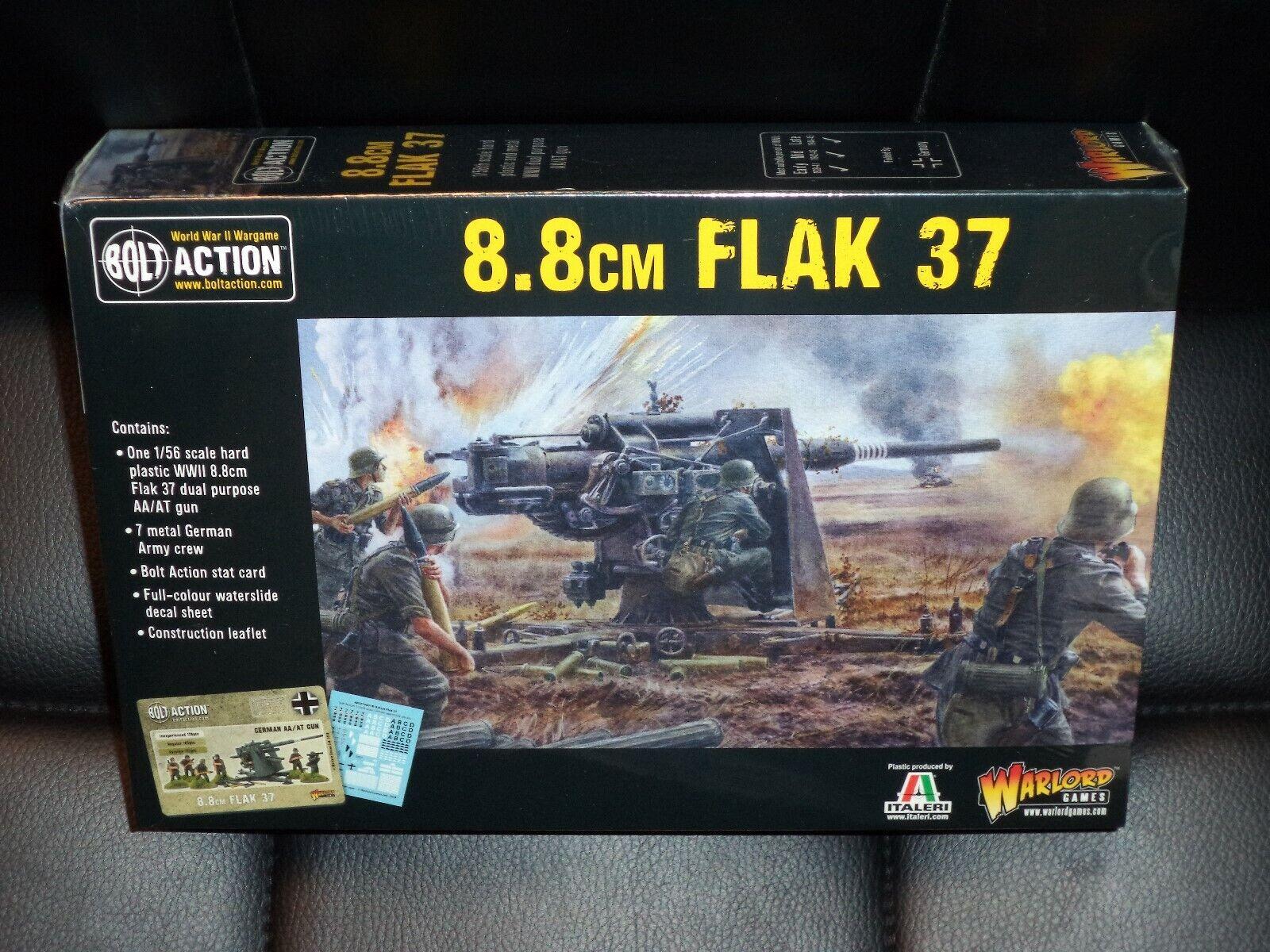 8.8cm Flak 37 88 Anti-tank Gun German WWII Bolt Action Games Model