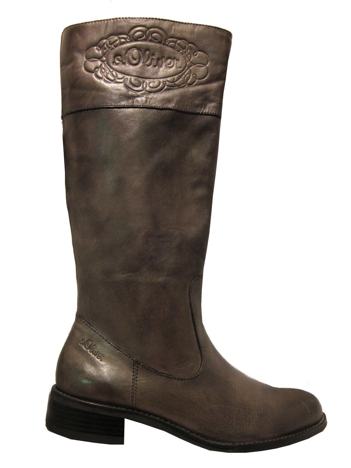 scelta migliore S. Oliver Oliver Oliver 25633 Stivali Grigio GRAPHITE TAGLIA 41 NUOVO  servizio di prima classe