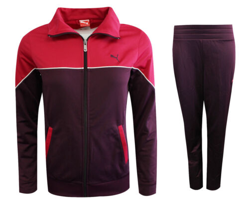 Puma Poly Suit Womens Zip Lightweight Tracksuit Polyester Purple 829969 09 A17D