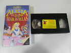 ALICIA EN EL PAIS DE LAS MARAVILLAS VHS TAPE LOS CLASICOS DE WALT DISNEY