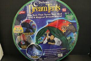 Dream Tents Dinosaur Island Green Twin Size Kids As Seen