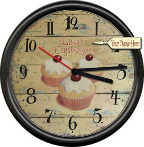 Image Is Loading Cupcakes Rustic Kitchen Personalized Your Name Bakery Chef
