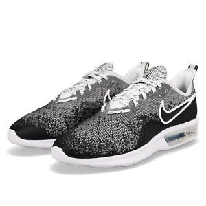 Nike Air Max Sequent 4 IV Black White Men Running Shoes Sneakers ... 6ccbff94c