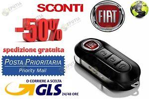 Chiave-Cover-Telecomando-Guscio-FIAT-500-L-PUNTO-EVO-PANDA-LANCIA-YPSILON-NOLOGO