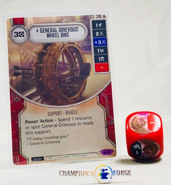 General Grievous/' Wheel Bike #31 Legendary Star Wars Destiny Way of the Force