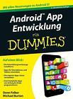 Android App Entwicklung für Dummies von Michael Burton (2015, Taschenbuch)