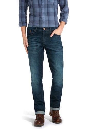 Da Uomo Ex WRANGLER GREENSBORO Jeans Stretch RRP £ 75 WA52 secondi
