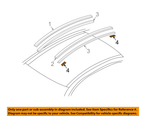Infiniti NISSAN OEM 03-06 G35-Roof Molding Clip 73856AL500
