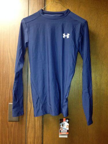 under armour long sleeve blue heat gear size medium new with tag nwt
