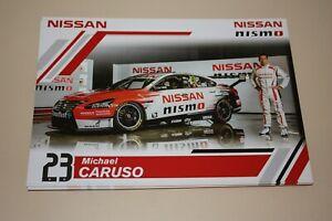 Michael-Caruso-V8-Supercars-Driver-Card-Nissan-Nismo