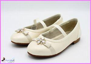 Mayoral-Ballerina-elegante-Scarpe-da-bambina-cerimonia-in-pelle-ragazza-eleganti