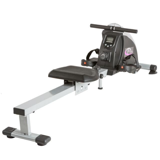 Rameur d'appartement appareil de fitness musculation cardio training+écran LCD n