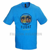 Flight Outfitters Tropical Seaplane T-shirt - Pilot Tee Shirt - Turquoise