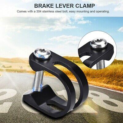 Metal Ring U Shape Brake Lever Clamp Bicycle Black Durable For Sram Avid E9 X0