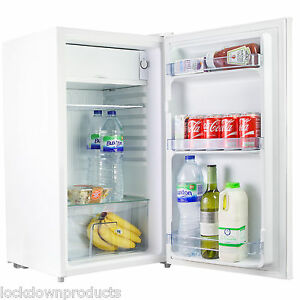 Quality-Simline-95-Litre-Under-Counter-White-Fridge-47cm-Wide-With-IceBox