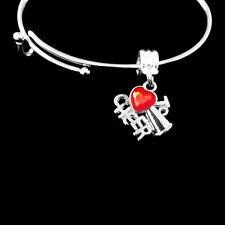 Cheer Charm bracelet   cheerleader   cheering  best jewelry gift