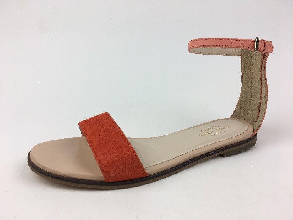 Cole HAAN Bayleen II Damen Größe 8 B Nektar Orange Sandalen 297
