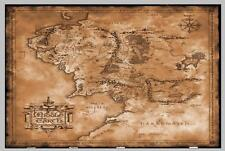 ZA296 the hobbit map the lord of the rings Poster Hot 40x27 36x24 18inch