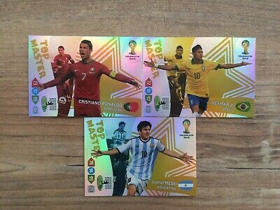 ADRENALYN XL 2014 WORLD CUP BRAZIL TOP MASTER /& LIMITED EDITION CARDS PICK